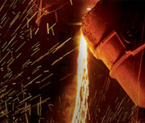 Geschmolzene Metalle und Schweißschutz